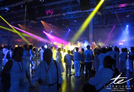 custom party lighting design