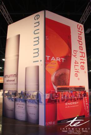 product display case and banner
