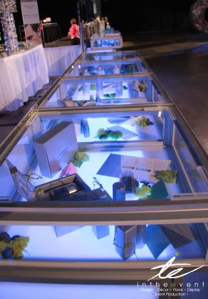 uplit product display cases