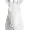 White Zebra Wall Mount Decoration