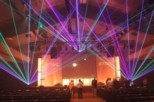 In The Event | Lasers & Drones technology Lasers & Drones: ITE at The Forefront of Event Technology Lighting