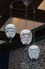 Ceiling Decorations for Events | Pendant Crystal Chandelier