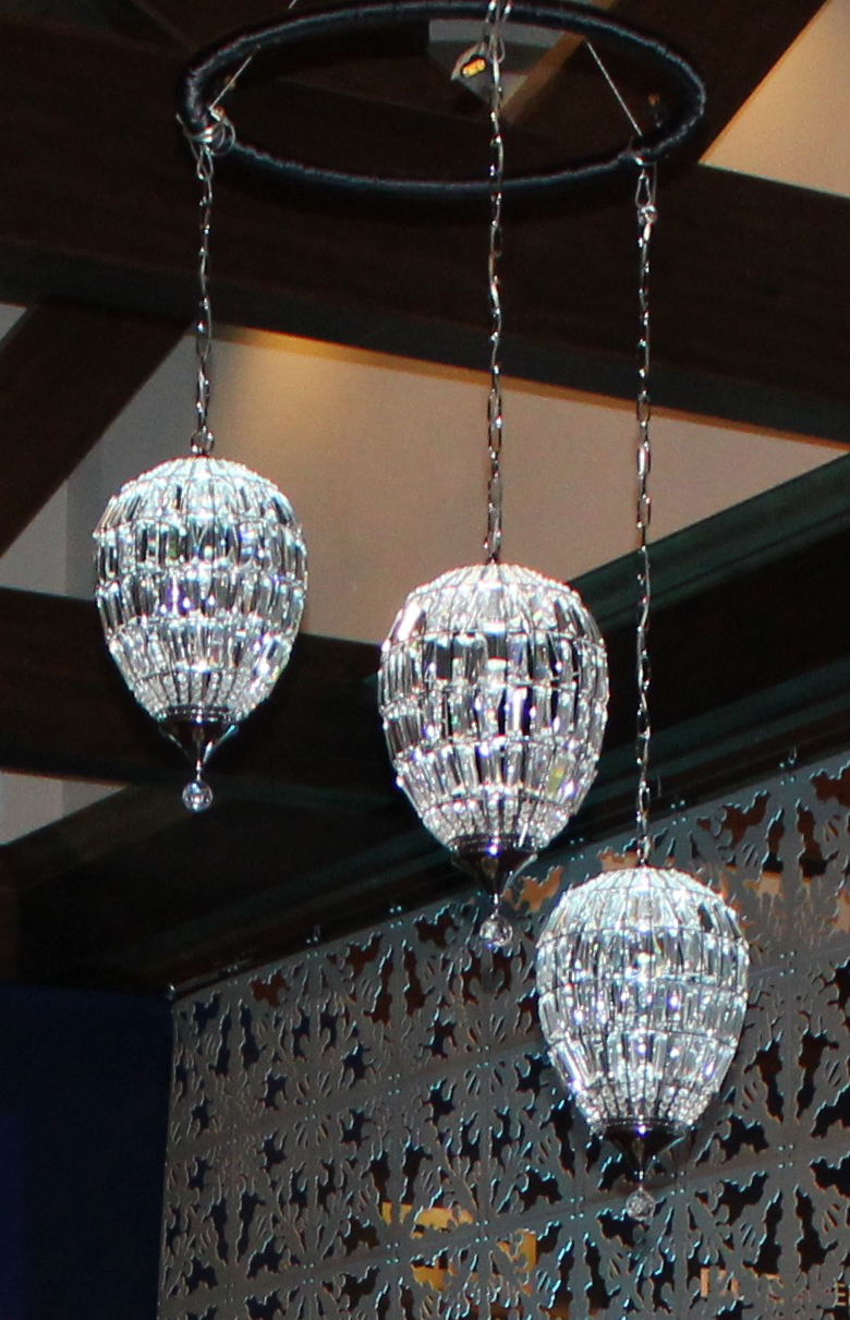 Ceiling Decorations for Events   Pendant Crystal Chandelier