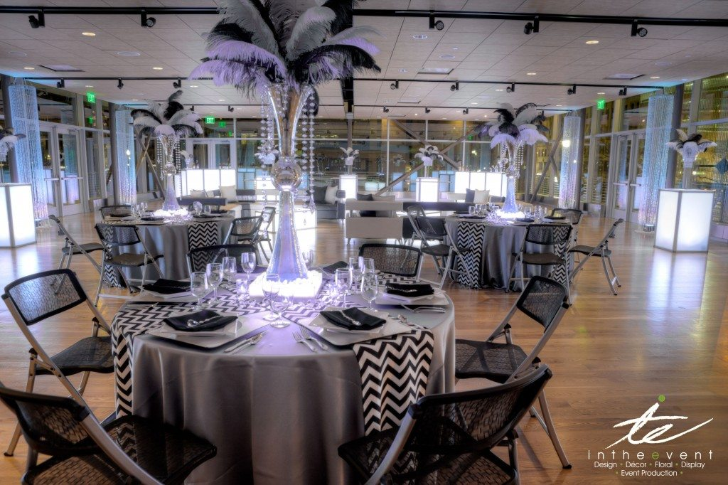 In The Event | Wireless Lighting wireless lighting Why Go Wireless At Your Next Event Black and White Table Decor 1 1024x682