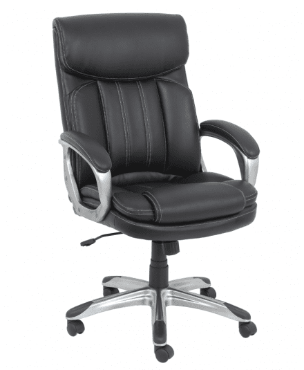 Event Rentals | Black Leather Executive Chair