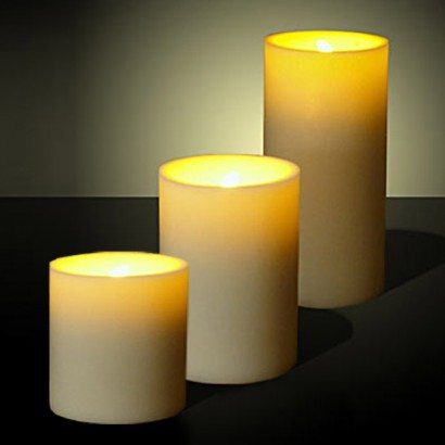 Event Rentals | LED Pillar Candle