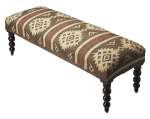 In The Event | Patterned Bench