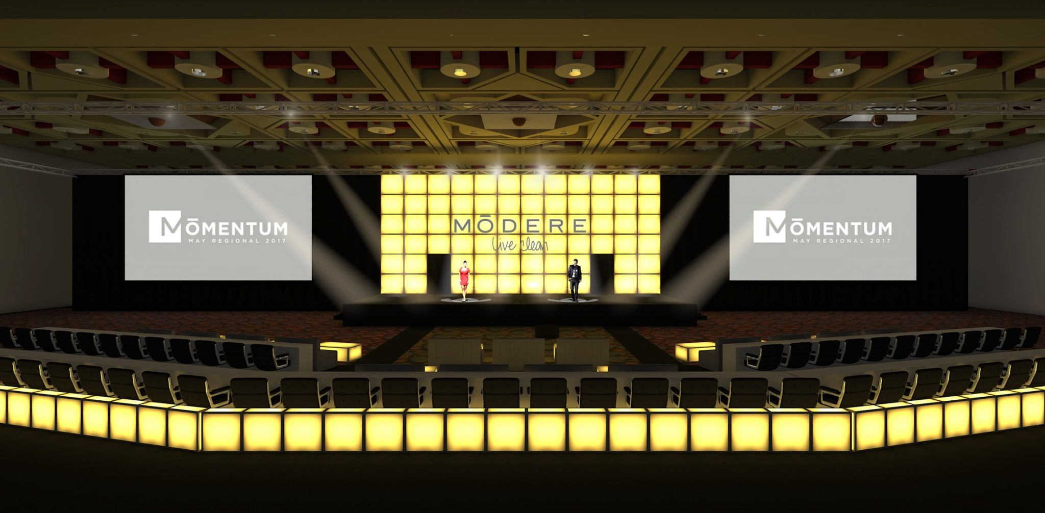 In The Event | Stage Design