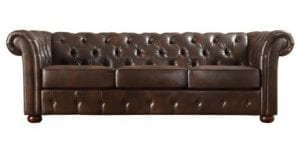 Brown Sofa | Halloween Party Rentals