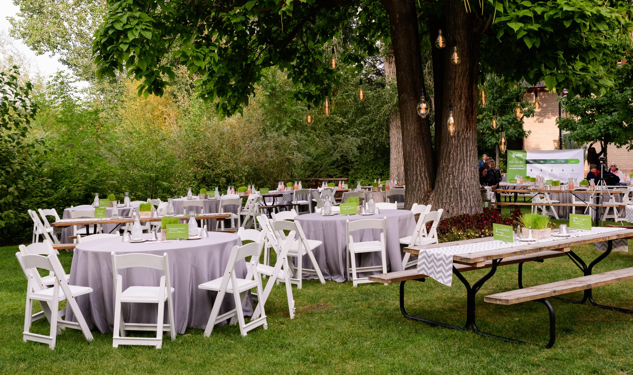 Utah event rental tents, tables and chairs