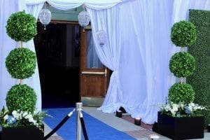 In The Event | Boxwood Wall boxwood hedge Our Favorite Event Rentals | Boxwood Wall IMG 3974 300x200