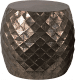 Bronze Geo Drum Tables In The Event Utah Rentals Furniture