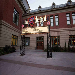 VENUES event planners Event Rental Utah the depot updated