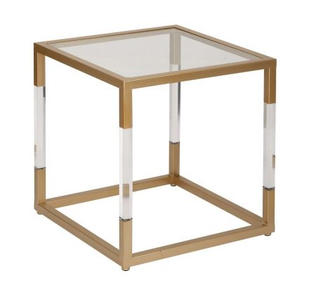 Dixon Side Table in the event furniture rentals