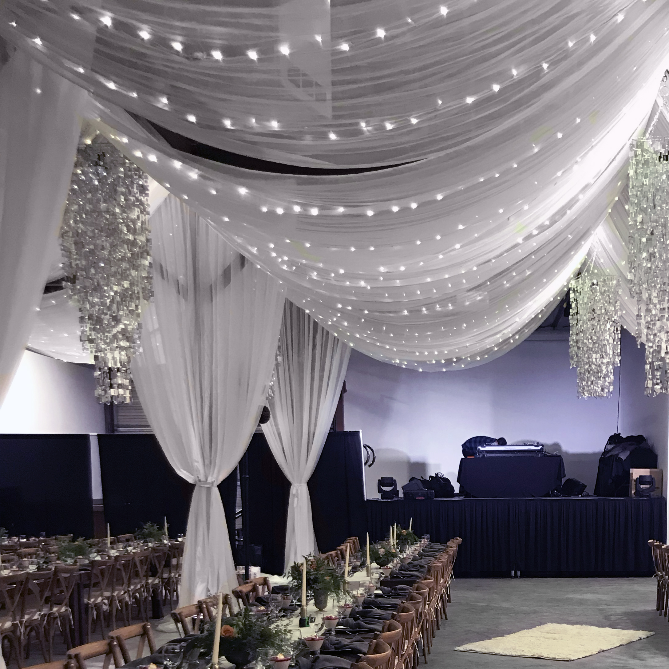 Event rental tables and chairs in Utah