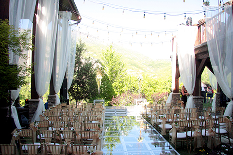 Outdoor event rental equipment in Utah