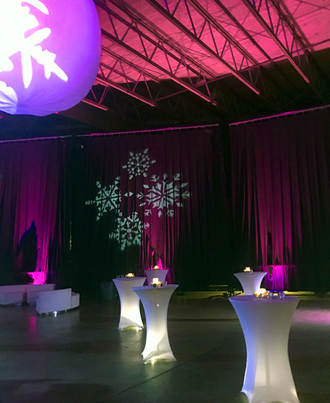 Event lighting rental in Utah